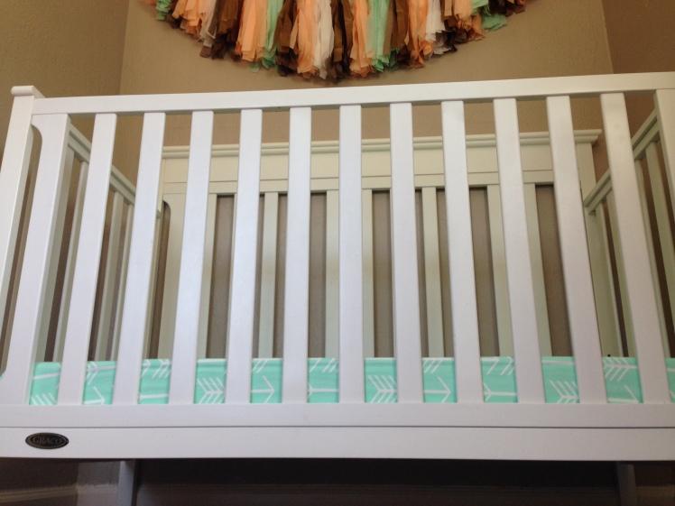 Harlow's crib